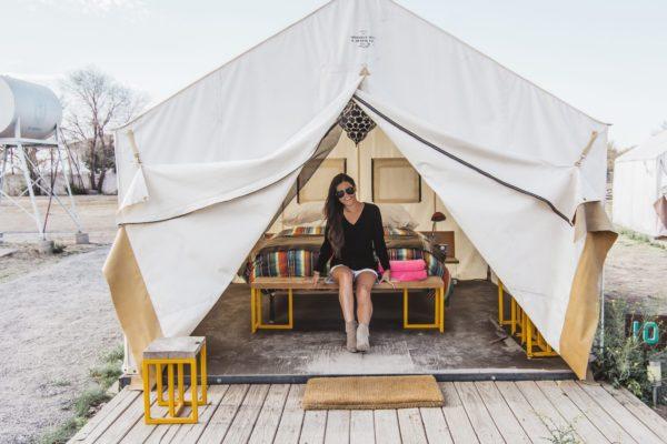 El-Cosmico-Marfa-Sheridan Tent Wall Tent Custom