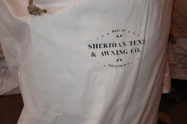 Sheridan Tent Canvas Drawstring Bag