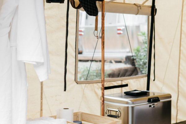 Sheridan Tent Custom Canvas Wall Tent Autocamp Vignette