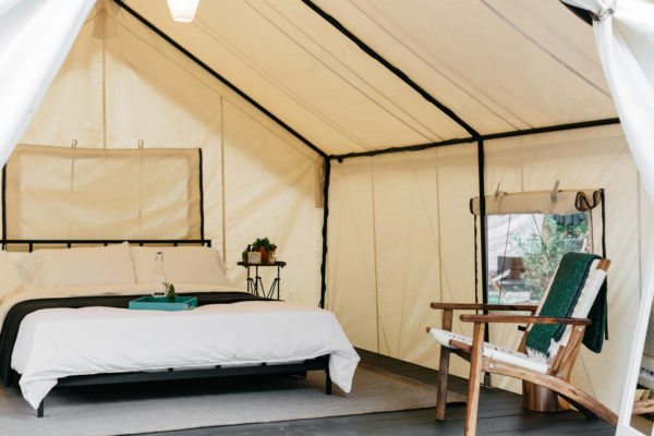 Sheridan Tent Custom Wall Tent for Auto Camp