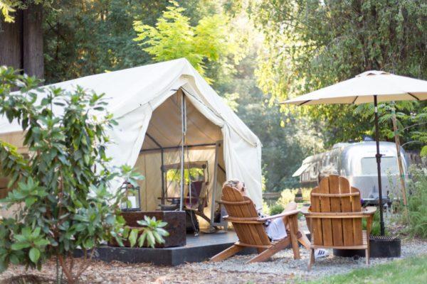 Sheridan Tent at Auto Camp, Russian-River- Photo by Madison Kotack