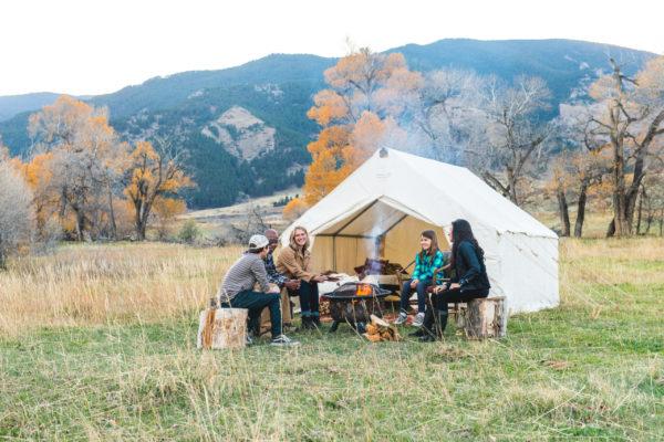 Sheridan Tent at Forbes Ranch