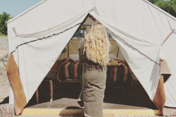 El Cosmico Glamping Safari Sheridan Tent Wall Tent