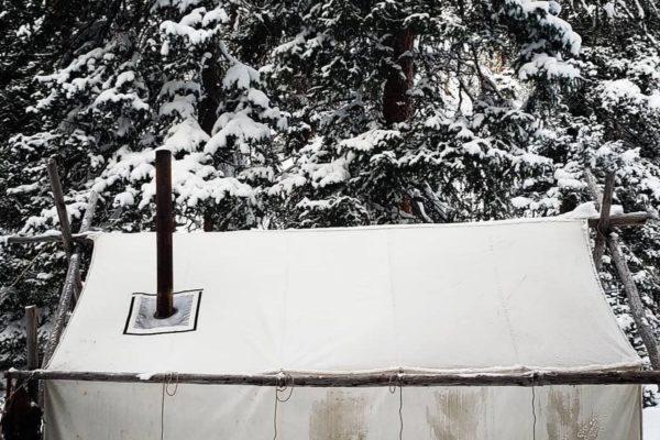Winter Hunting Sheridan Tent & Awning Canvas Wall Tent