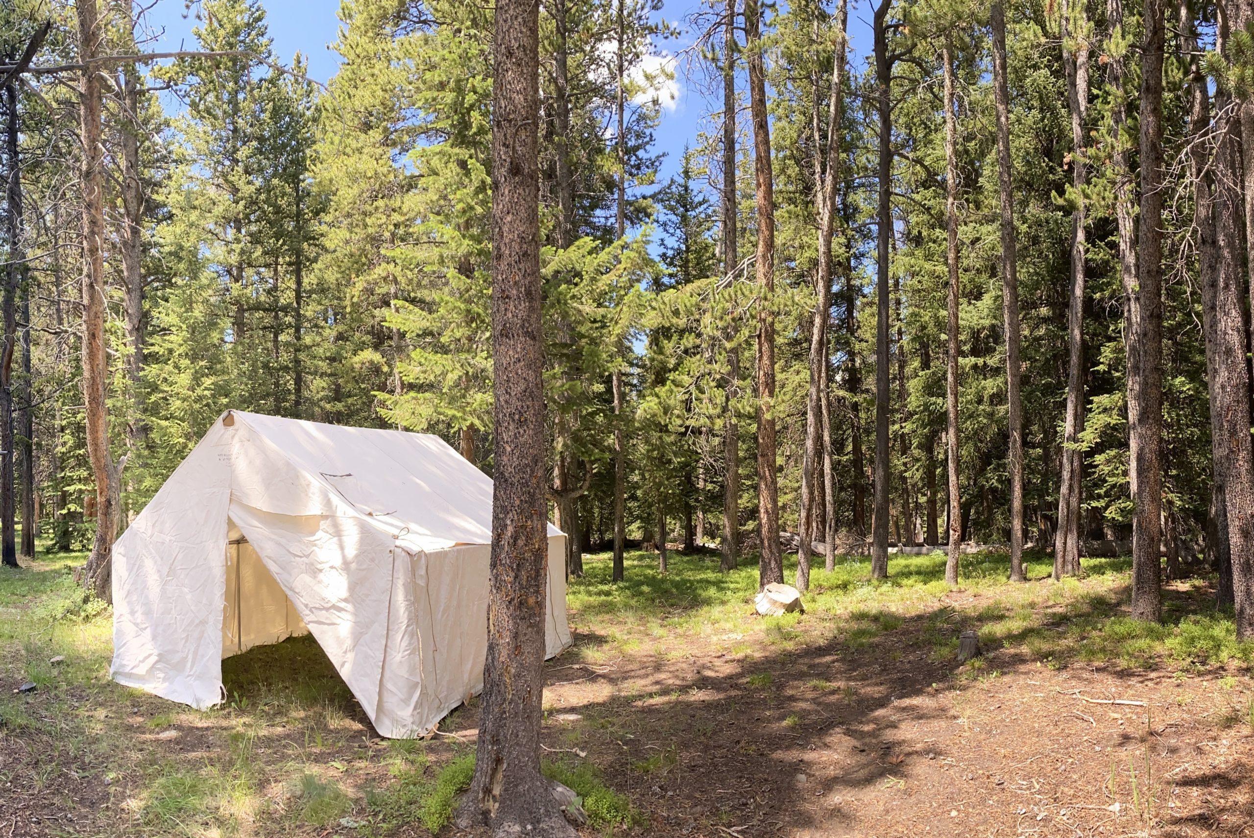 Sheridan Tent Canvas Wall Tent